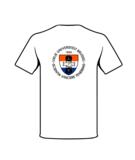 T-shirt wit achterzijde