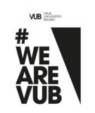 VUB logo T-shirt oranje
