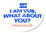 Button 'I am VUB, what about you?'