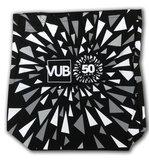 Totebag zwart print, editie 50 jaar VUB