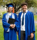 Das tijdens graduation ceremony