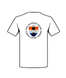T-shirt 2020 wit achterzijde