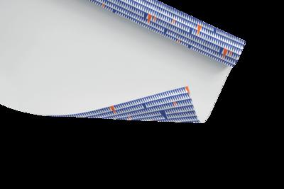Inpakpapier met VUB print