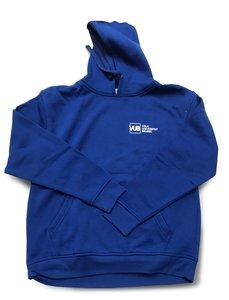 Hoodie 2021 Blauw met VUB logo VUB voorkant