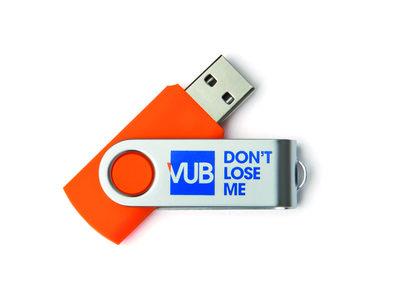 USB stick 8GB oranje don't lose me